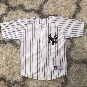 Yankee Jersey, Jeter Number 2, Size 14/15 (Small)